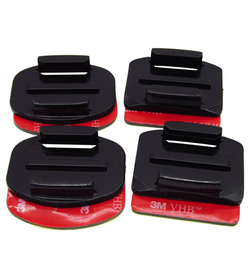 4 piece adhesive mount kit for GoPro