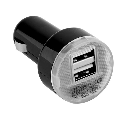 Dual USB power outlet
