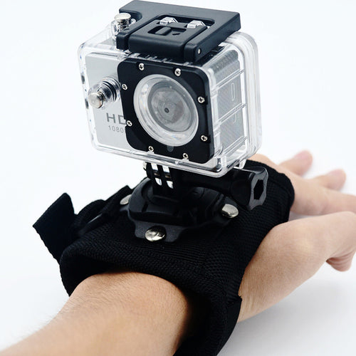 360 Hand strap mount for GoPro