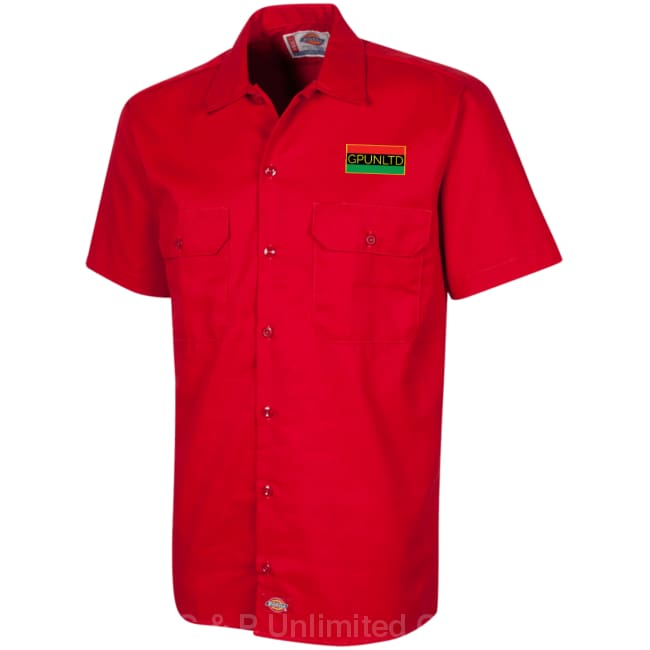 G & P  Unlimited Co.-Dickies Men's Short Sleeve Workshirt - G & P Unlimited Co.
