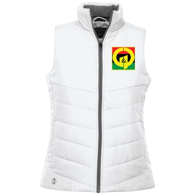 G & P Unlimited Co. Holloway Ladies' Quilted Vest - G & P Unlimited Co.