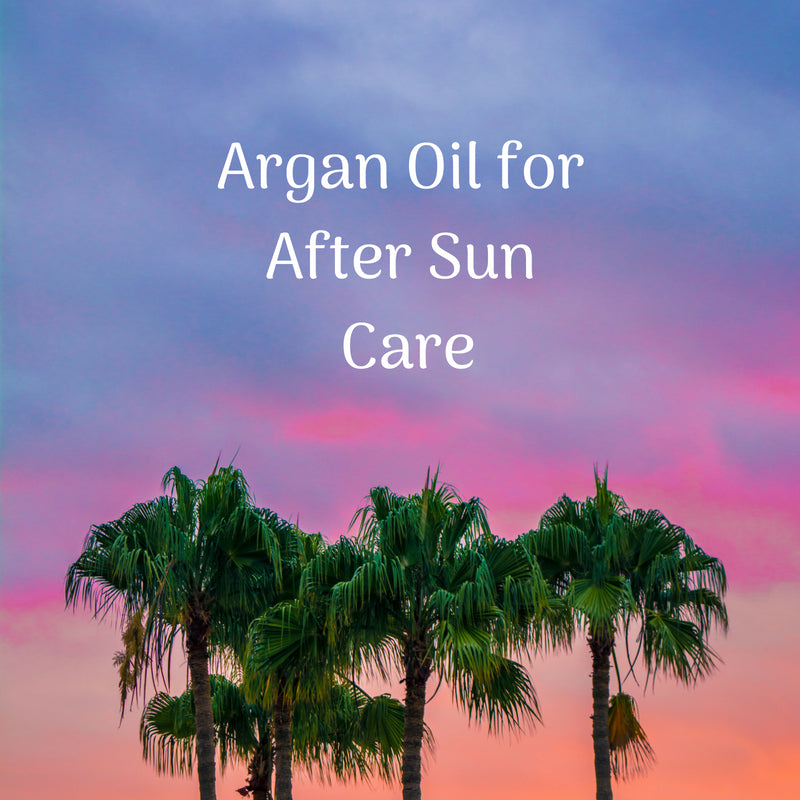 Argan Oil for After Sun Care