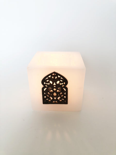 Moroccan Wax Candle Holder