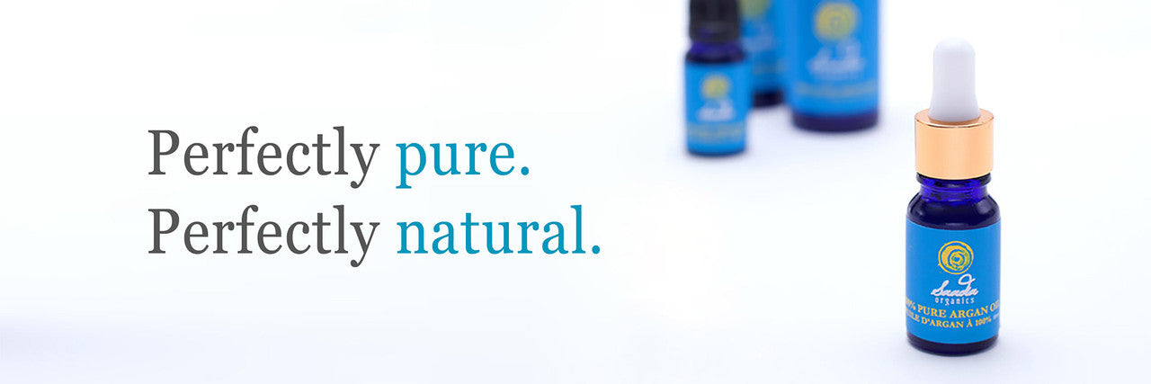 A bottle of Saadia Pure Argan Oil