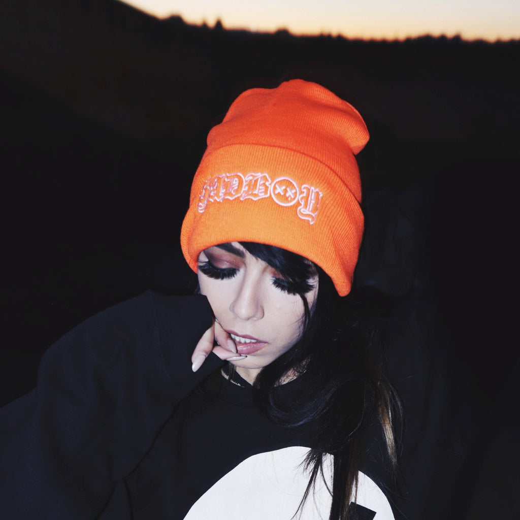 SADBOY Beanie (ORANGE)