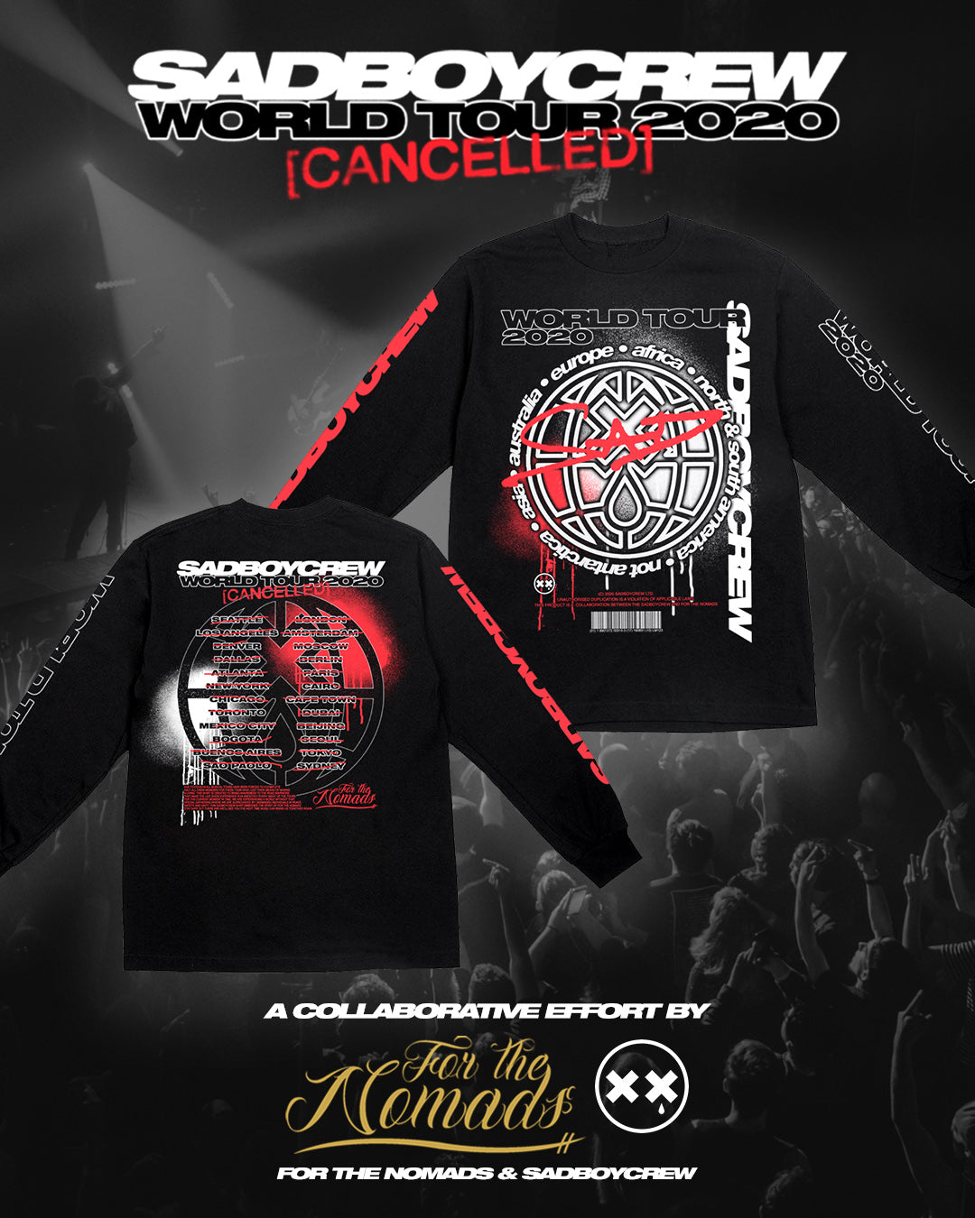 WORLD TOUR 2020 - Long Sleeve