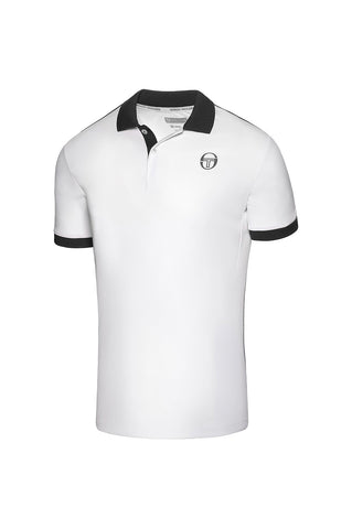 Club Tech Polo - White / Navy