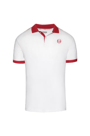 Club Tech Polo - White / Red