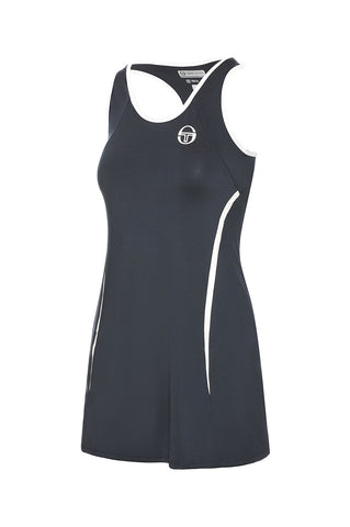 Eva Dress Navy / White