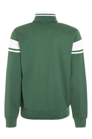 Damarindo Sweater - Forest Green / White