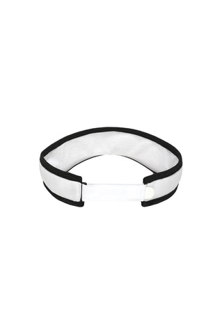 TRACE VISOR WHITE / BLACK