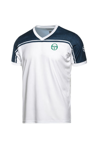 BLEND T SHIRT WHITE GOLF GREEN
