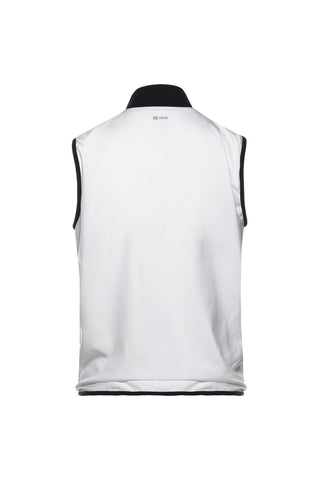 Club Tech Sleeveless Tracktop White / Navy