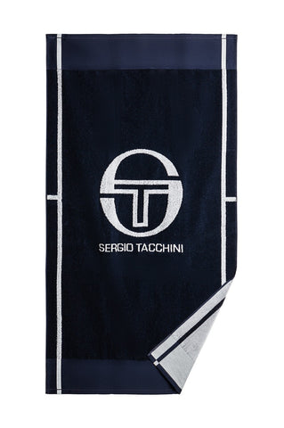 CLUB TECH TOWEL - Navy / White