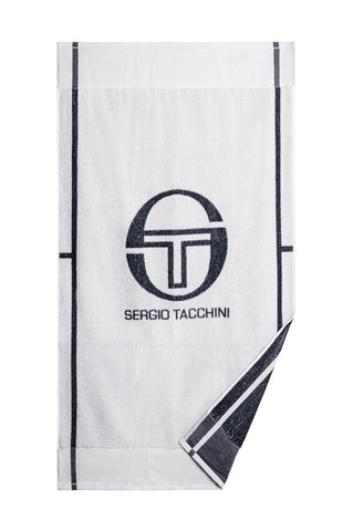 CLUB TECH TOWEL - White / Navy