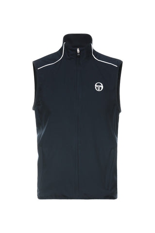 Club tech Sleeveless Tracktop Navy / White