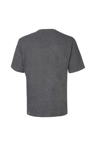 Daiocco T Shirt - Grey Melange / Navy