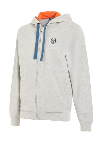 Obi Sweater - Grey Melange / Blue Marine