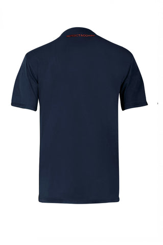 Octaine T Shirt - Navy / Orange