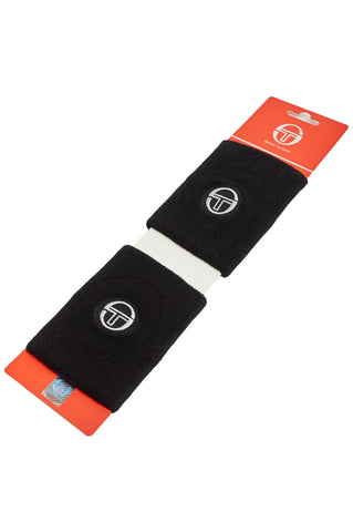Tennis Wristband 2 Pack - Black