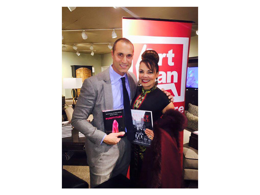 Trading Books with Nigel Barker!!