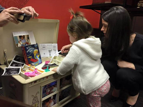 Lauren Near and her Life Chest Hope Chest for Her Daughter