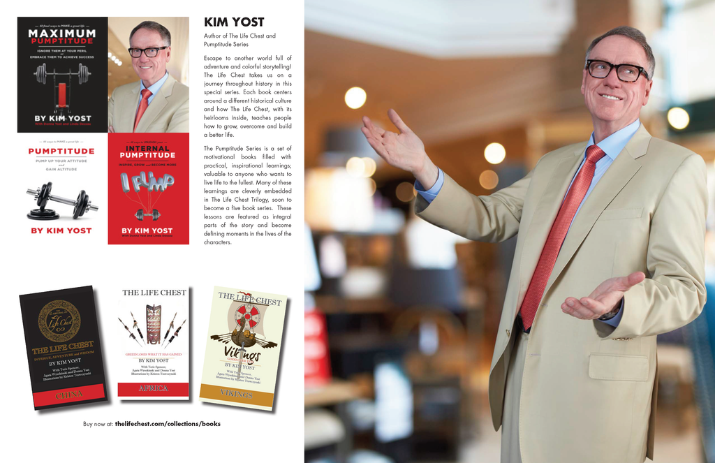 Kim Yost The Life Chest and Pumptitude Books