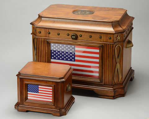 Patriot and Patriot Memory Life Chest Hope Chest Memory Boxes