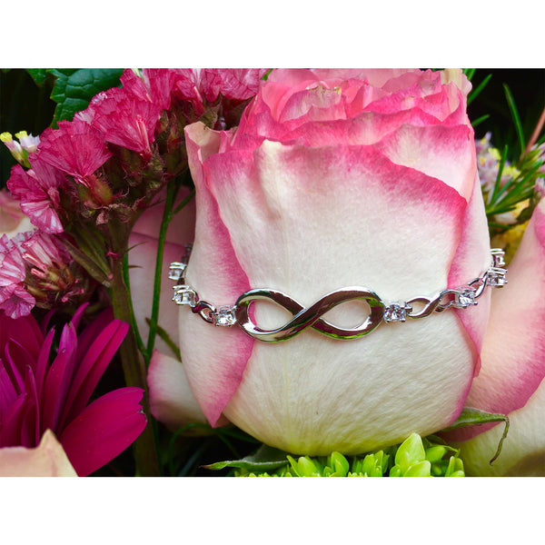 The Life Chest Infinity Silver Bracelet
