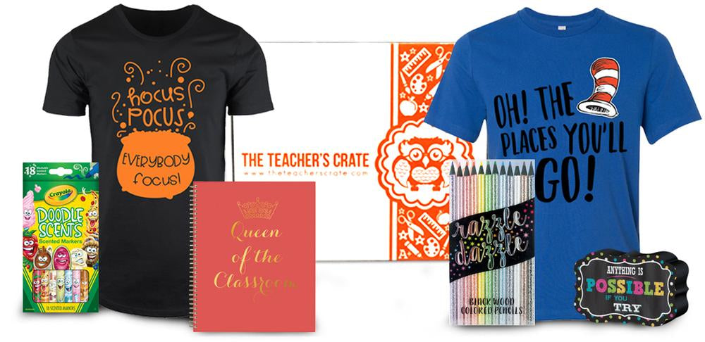 July Teacher's Crate