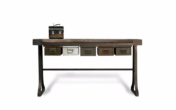 Usine Industrielle Storage Console Table