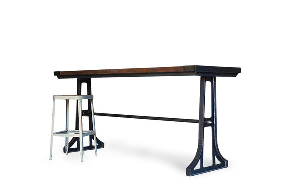 Industrial Gathering Table Kitchen Island