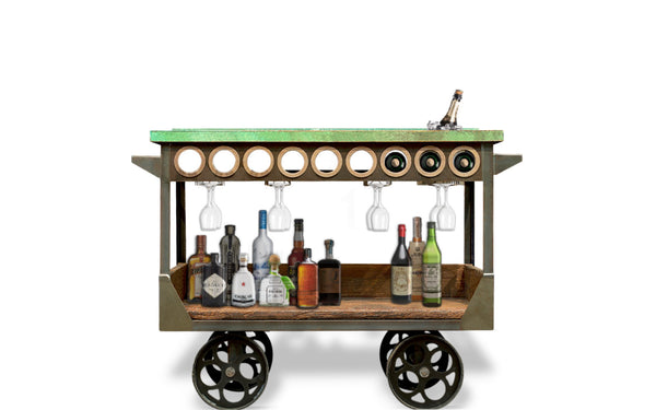 The Rouler Bar Cart