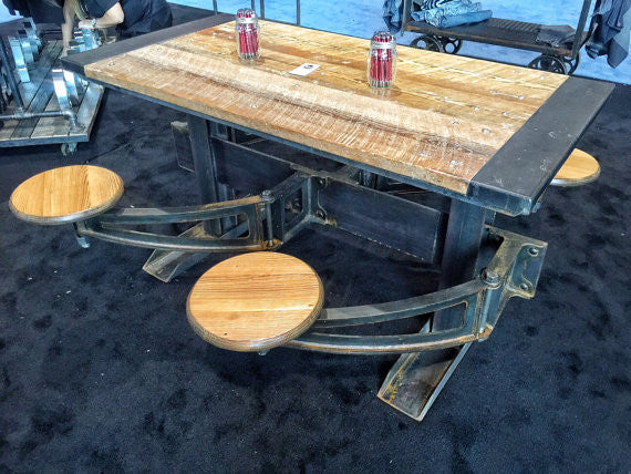 The Orleans Swing Out Seat Dining Table