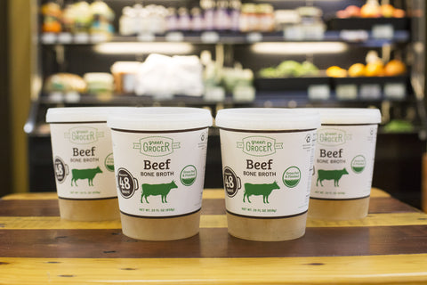 4 Pack Grass Fed Beef Bone Broth