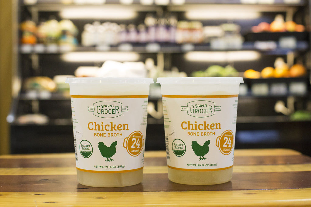 Chicken Bone Broth-LOCAL DALLAS CO-OP PICK UP ONLY