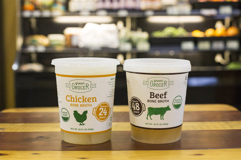 Combo Pack 1 package each of Chicken and Beef bone broth