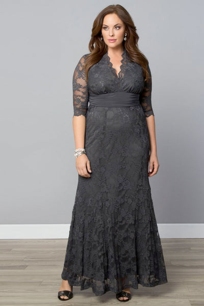 Screen Siren Lace Gown