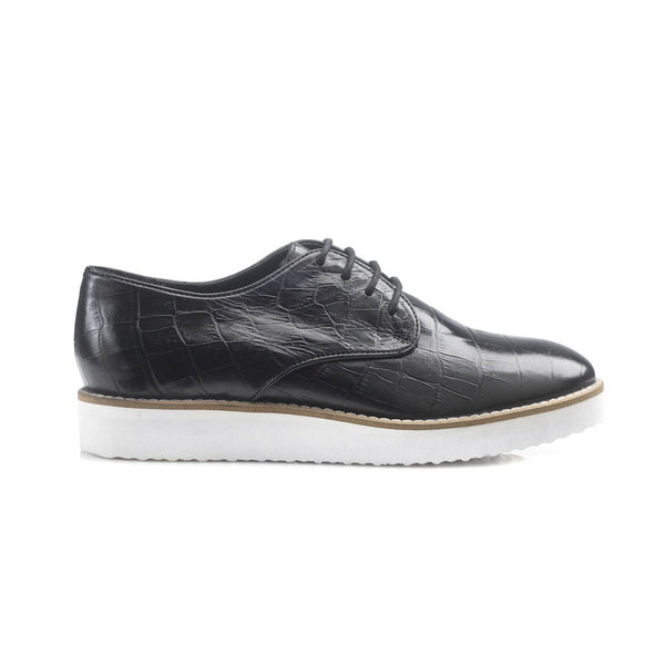 Lilith Black Brogues