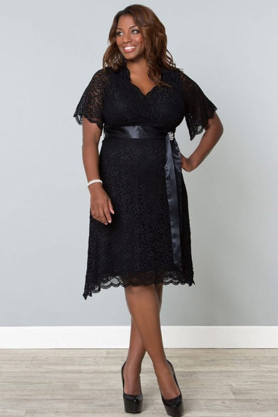 Retro Glam Lace Dress