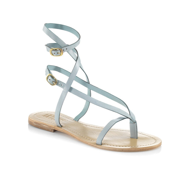 Roman Light Blue Sandal