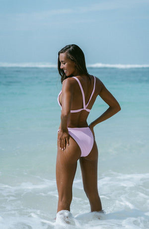 STARDUST Sustainable Bikini in pink