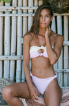 SUNBEAM Sustainable Bikini in pink and yellow