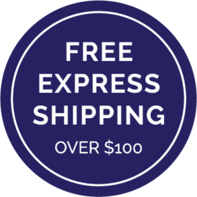 Image of Free Express shipping (when you spend over $100)