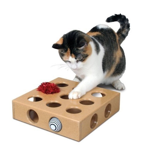 Peek A Prize Toy Box : Feline be mine