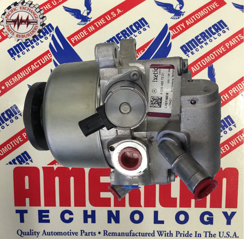 Mercedes Benz SL600 SL65 AMG ABC Tandem Power Steering Pump 2007-2009 OEM 0054667301