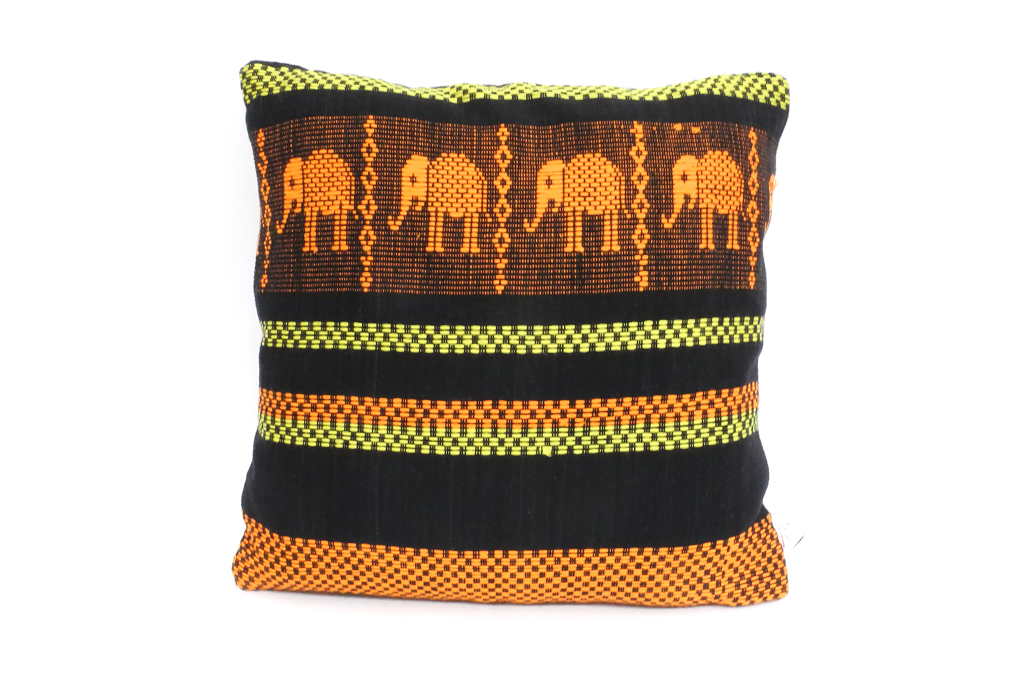 Mon Elephants Cushion Cover