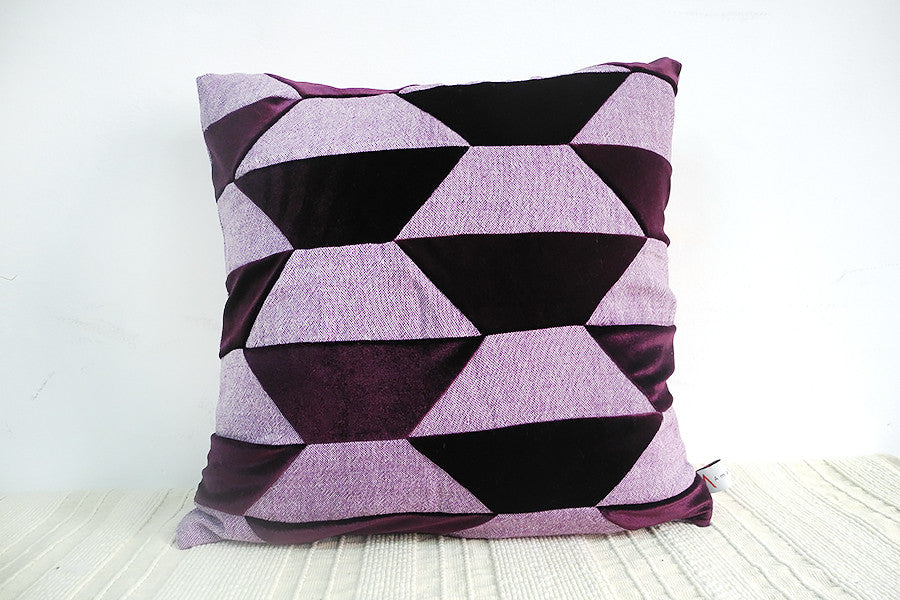 Velvet Matt and Shine Cushion Cover