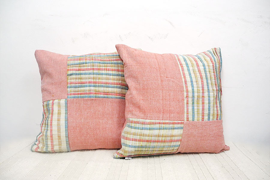 Two Layers Wave Thinking Box Cushion Cover