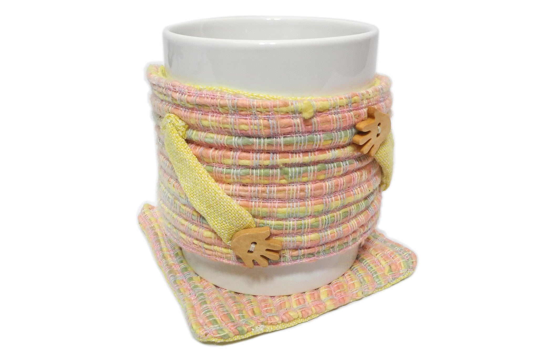 Coffee Mug Cozy and Coaster
